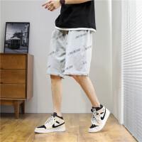 短裤男士2021新款夏季大裤衩ins潮流沙滩篮球裤外穿运动五