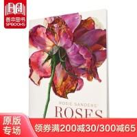 【预订】罗西桑德斯的玫瑰 Rosie Sanders' Roses A Celebration in Botanical Art 英文原版 手绘花卉 植物全彩艺术绘画书 素描草图 花卉插画书籍