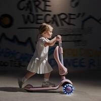 babycare儿童滑板车宽轮 男女宝宝单脚踏滑滑车溜溜车(下单就送运动护膝)