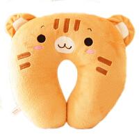 可爱动物熊猫款U型枕护颈枕午睡枕头靠枕可爱脖枕空调枕头
