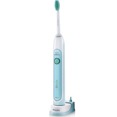 Philips/飞利浦飞利浦HX6711 充电式声波震动牙刷净白模式清洁2分钟计时 声波震动技术 减少蛀牙