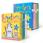 Boynton's Greatest Hits桑德拉・柏因顿精选8本套装 儿童英文原版绘本幼儿启蒙认知读物 Moo,