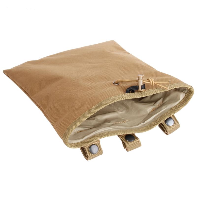 军迷户外战术MOLLE腰挂包水弹枪弹夹收纳袋工具包大回收袋杂物袋