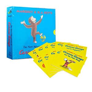 好奇的乔治系列 英文原版绘本 好奇猴乔治 Curious George Collection 11册套装