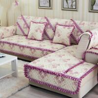 沙发垫欧式布艺沙发坐垫四季防滑现代简约夏季沙发套实木沙发巾罩定制