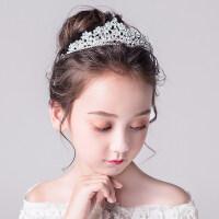 皇冠�^��和��^�小公主生日婚�Y演出配�童�皇冠�l�女童�l箍�b�大王冠MYZQ61 白色