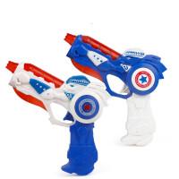 儿童电动儿童玩具枪宝宝投影枪玩具男孩声光音乐八音枪可变形 +充电池7号