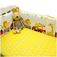 婴儿床品防撞床围四面套件定制婴儿宝宝婴幼儿四季床品定做婴儿床床围ZQ-YS012
