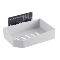 卫生间免打孔吸盘肥皂盒家用沥水便携置物架双层皂盒壁挂式香皂盒