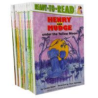 Ready to ready level 2 Henry and Mudge系列亨利和大狗玛吉 21本套装 汪培�E推荐第二阶段英文原版童书故事书 初级桥梁书 送音频