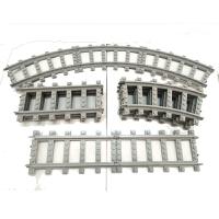 儿童奥斯尼火车系列通用拼装兼容乐高积木轨道配件积木火车岔道玩具5-7-9-11岁玩具