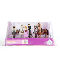 长发公主乐佩魔发奇缘玩偶玩具6件套装礼盒装男孩儿童宝宝玩具 魔发奇缘 其他尺寸