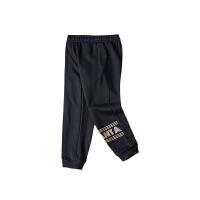 【到手价92】安踏儿童女童运动裤2021春季新款休闲中大童宽松长裤子362117742