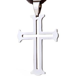 梦克拉  钨金项坠项链吊坠虔诚十字架吊坠 可礼品卡购买