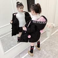 童装女童棉衣2018冬装新款儿童韩版洋气棉袄中小童加厚羽绒潮