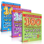 scholastic 100 vocabulary words kids need to know by 4-6th
