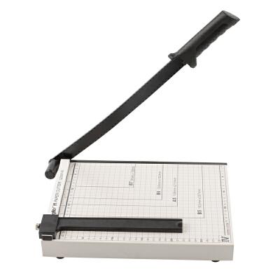 广博(GuangBo)300*250mm(可切A4纸)钢质切纸刀裁纸刀裁纸机QZD9214S