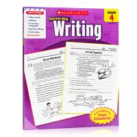 英文原版学乐成功系列 Scholastic Success with Writing (Grade 4) 四年级 写作