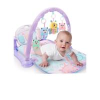 婴儿脚踏钢琴健身架器新生儿童女孩0-1岁宝宝3-6个月男孩玩具男孩儿童宝宝玩具 +2405内容蜜蜂早教机