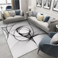 现代简约北欧中欧式家用客厅地毯茶几垫水洗卧室床边沙发