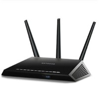 美国网件(NETGEAR) R7000 AC1900M 双频千兆无线路由器 WIFI上网穿墙