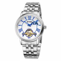 2018新款 EYKI艾奇 时尚商务 全自动机械镂空复古 罗马刻度 潮流钢带男士时装手表 8710
