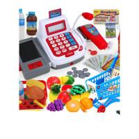 儿童玩具女孩3-4-6-7-8-9-12岁女童仿真收银机宝宝智力小学生男孩儿童宝宝玩具