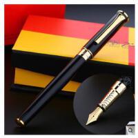 Pimio 毕加索988纯黑金夹男士商务办公用练字签字钢笔墨水笔