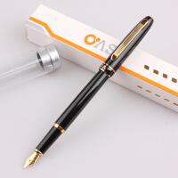 毕加索 oaso优尚 s103 纯黑金夹 学生练字钢笔 墨水笔 铱金笔