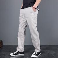 男装裤子户外休闲裤男夏季薄款工装裤男宽松直筒纯棉长裤