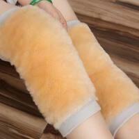 冬季羊毛护膝保暖老寒腿膝盖套漆关节加绒加厚防寒男女老年人