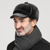 老人帽子男冬天加绒大护耳保暖帽冬季中老年人爷爷老头东北雷锋帽