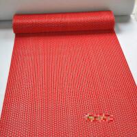 PVC塑料红地毯浴室防滑垫洗手间厕所脚垫厨房家用镂空进门垫地垫定制