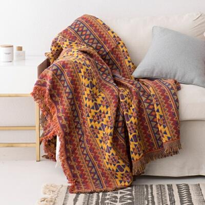 北欧沙发布全盖沙发巾沙发套防尘罩盖毯防尘沙发垫单双人沙发罩 西域风情沙发巾 本店部分商品为定制商品,部分商品价格是定金,部分商品自提,超重及偏远地区需补运费