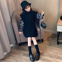 女童秋冬装洋气儿童套装时髦大童女孩两件套