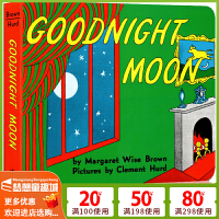 Goodnight Moon 晚安,月亮 英文原版绘本 平装 吴敏兰书单 第92本 玛格莉特・怀兹・布朗