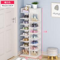 多层鞋架简易家用鞋柜简约现代家里人经济型门口小鞋架省空间