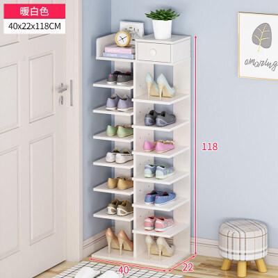 多层鞋架简易家用鞋柜简约现代家里人经济型门口小鞋架省空间 智慧家居.