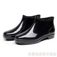 2019新品韩版雨鞋男短筒时尚雨靴男士春季新款防滑水鞋低帮套鞋防水鞋男
