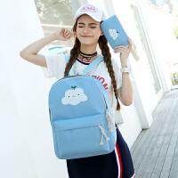 男女童女孩书包小孩旅游休闲儿童背包1-2-4年级小学生书包双肩包
