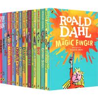 【全店满300减120】#Roald Dahl 罗尔德达尔 进口英文原版小说 16本 青少年课外阅读 章节书 查理和巧克