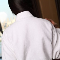 五星级酒店浴袍男女纯棉毛巾料秋季冬季浴衣全棉和服浴服睡袍
