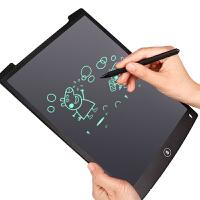 电子写字板 液晶手写板儿童绘画板涂鸦电子光能小黑板写字板手绘板8.5寸12寸