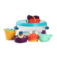 宝宝洗澡玩具套装 戏水玩具 儿童洗澡喷水玩具 0-3岁 宝宝洗澡玩具套装