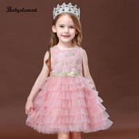 女童连衣裙夏装宝宝儿童装夏款小童蓬蓬纱裙公主裙子