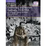 【预订】A/As Level History for Aqa Democracy and Nazism: German