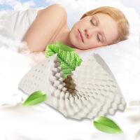 天然乳胶枕护颈枕橡胶枕按摩枕头记忆护颈椎枕L11定制