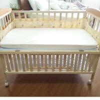 防水隔尿垫婴儿床笠婴童床上用品儿童床单宝宝床罩防螨虫定制 白色