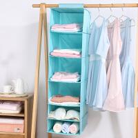 新品强承重布艺衣柜收纳挂袋 悬挂式衣服收纳袋抽屉式衣物收纳盒