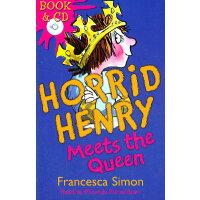 Horrid Henry Meets The Queen (Main Readers, Book/CD ) 淘气包亨利